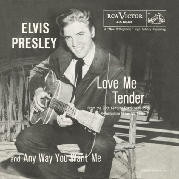 Love Me Tender, Elvis Presley