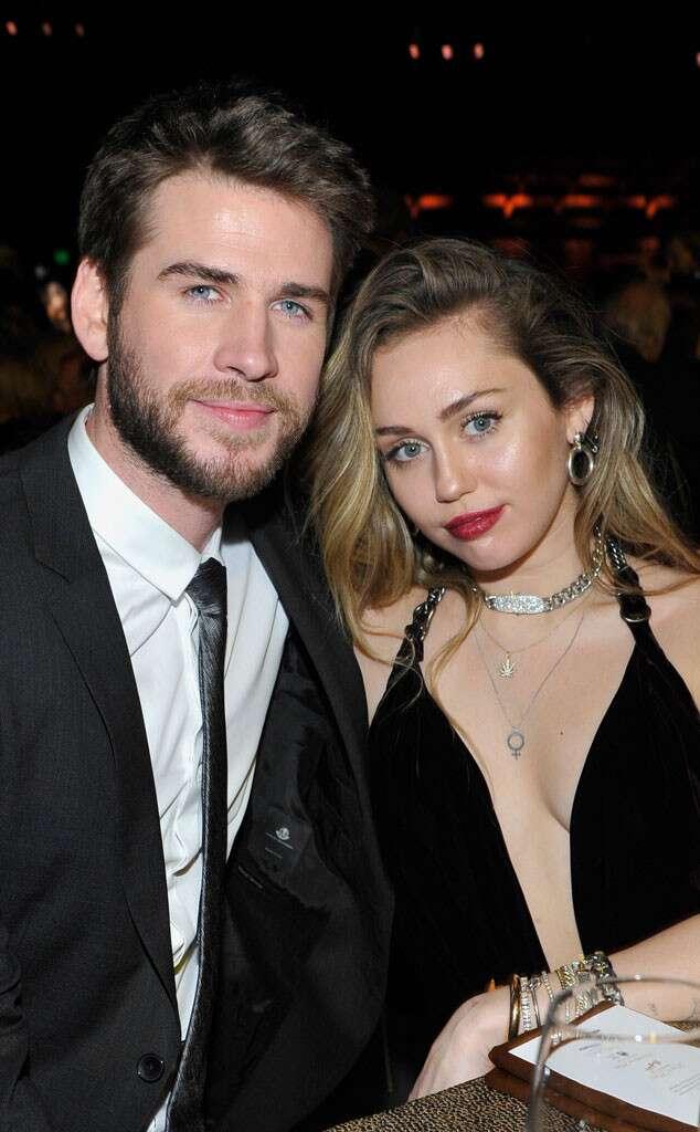 Miley Cyrus, Liam Hemsworth, Split