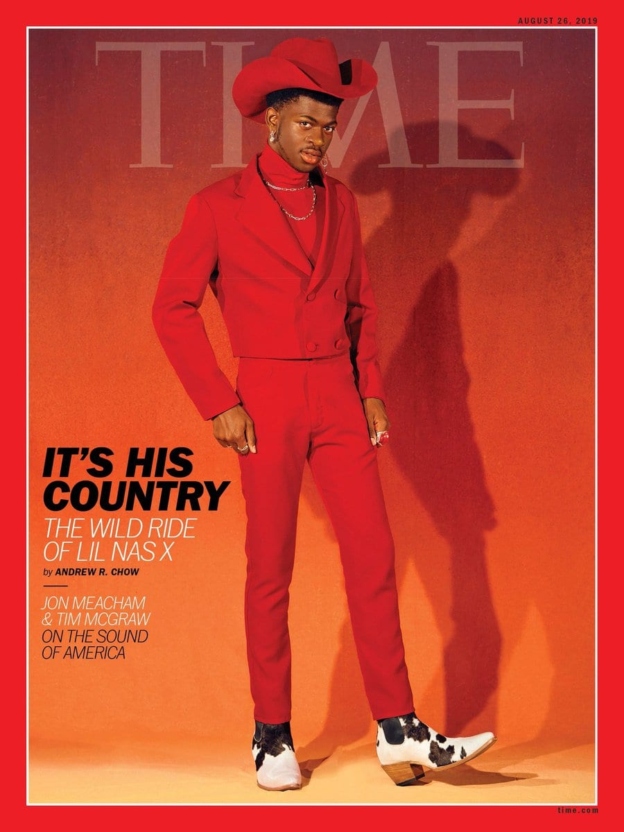 Lil Nas X, Time, Cover