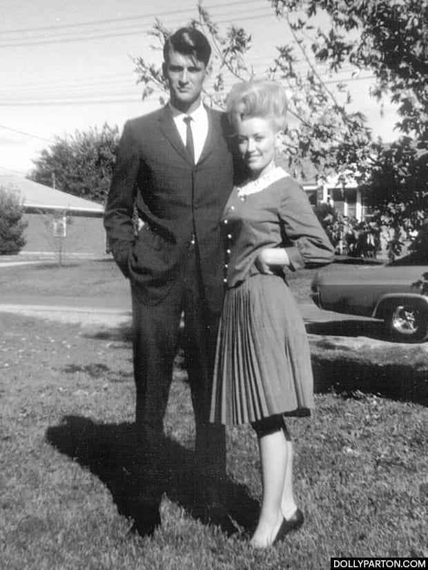 Carl Dean and Dolly Parton