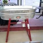 33 gallon galvanized tub