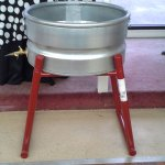 galvanized tub stand rental