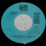 carlene carter i love you cause i want to