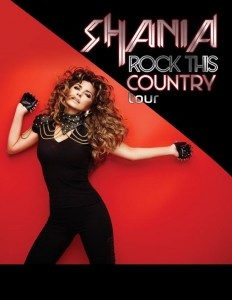 Shania Twain Rock This Country Tour