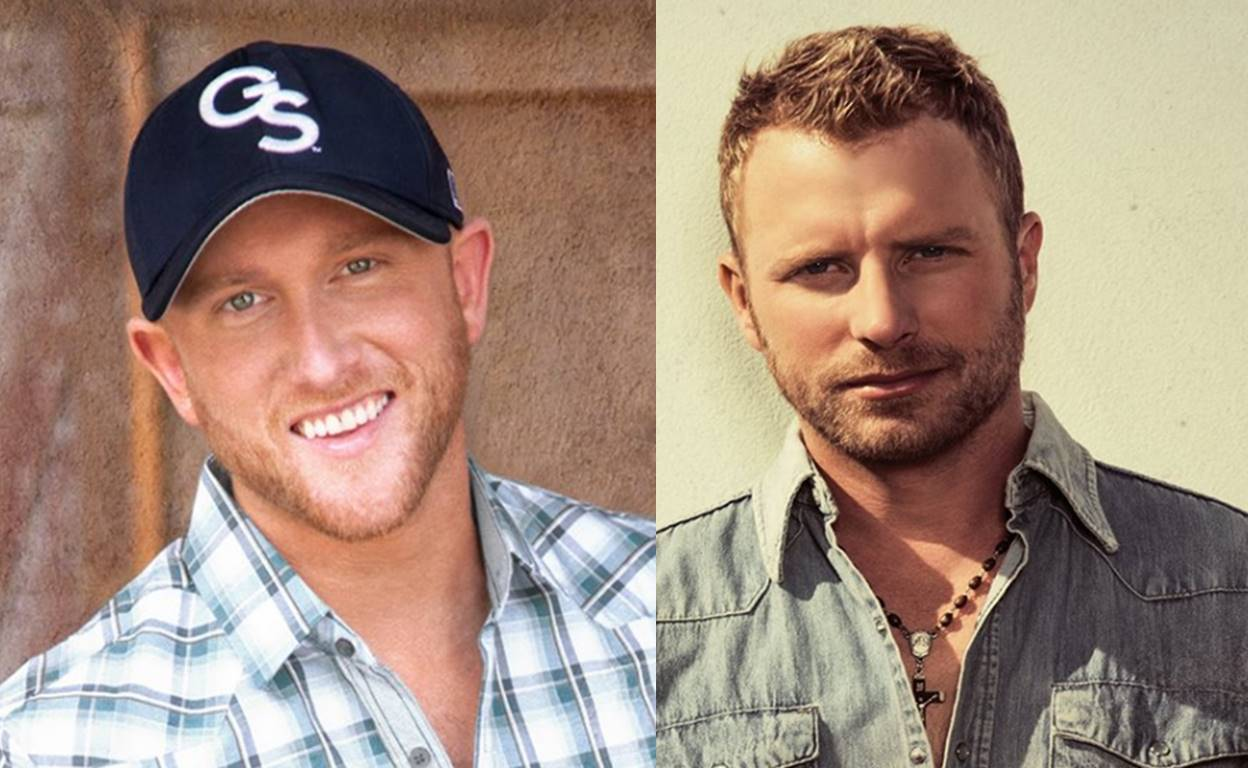 "single review: cole swindell featuring dierks bentley, ""flatliner"