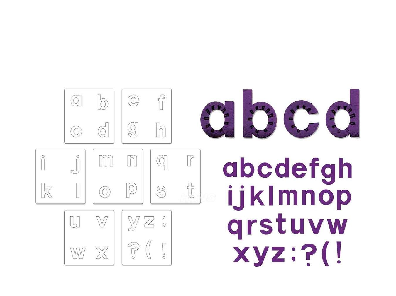 Block Letters Lowercase