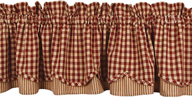 Country kitchen curtains
