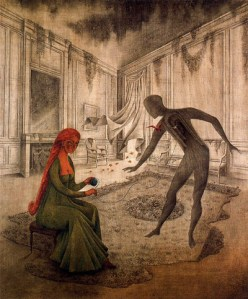 REMEDIOS-VARO-RED-WOMAN