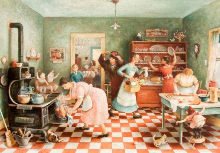 Thanksgiving-Doris Lee, 1935