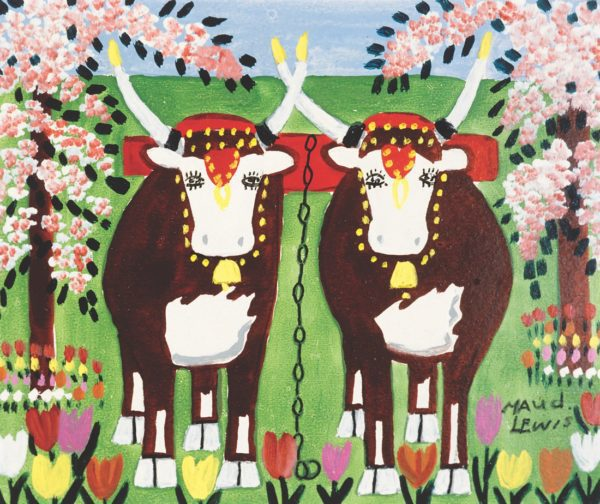 Painting in Joy and Pain ~ Maud Lewis + Update