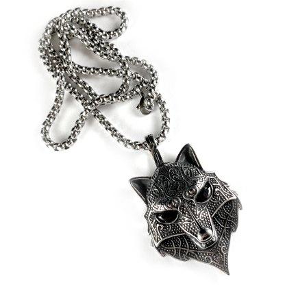 Celtic Fox Necklace