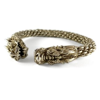 Braided Dragon Cuff