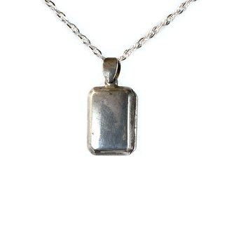 Rectangular Sterling Locket