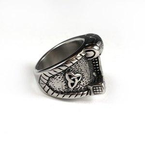 Thor's Hammer Stainless Steel Ring