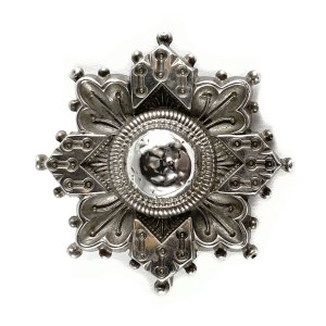 Victorian Cross Brooch