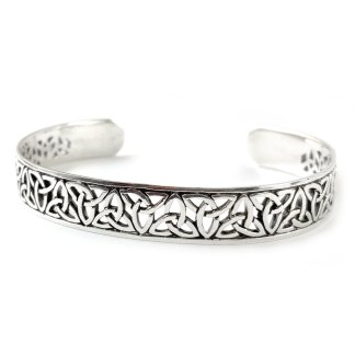 Celtic Knot Sterling Cuff