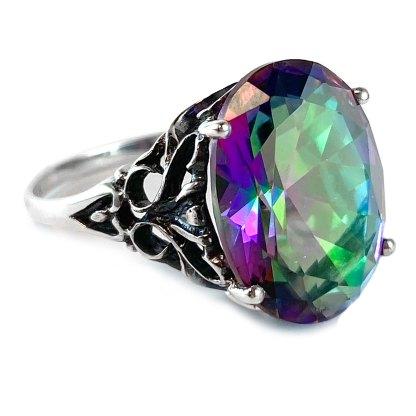 Iris Ring in Sterling