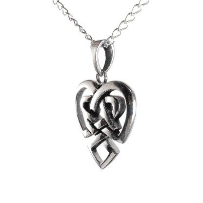 Celtic Knot Heart Pendant