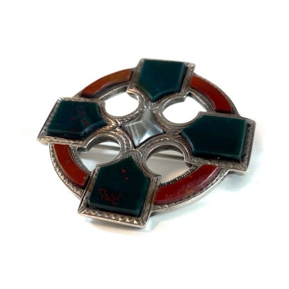 Victorian Iona Cross Kilt Pin