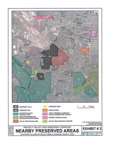 Map of Valley View Greenway Corridor-clean ohio 2016