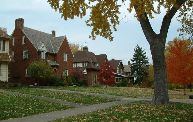 photo of houses