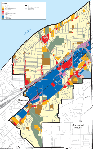 Euclid land use map