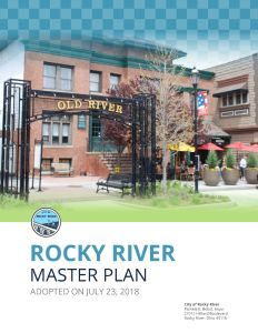 Cover of the Rocky River Master Plan
