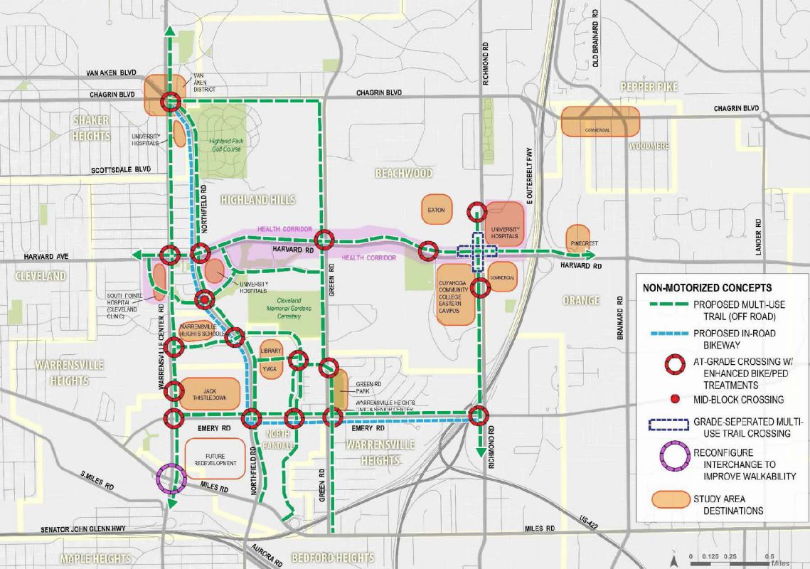 Northfield-Warrensville Multimodal Connectivity Plan: Recommendations for Non-Motorized Improvements