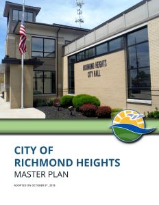cover of the Richmond Heights Master Plan