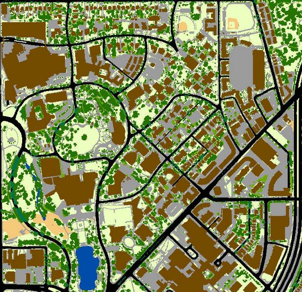 sample land use maps of institutional