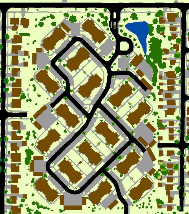 sample land use maps of multi-family