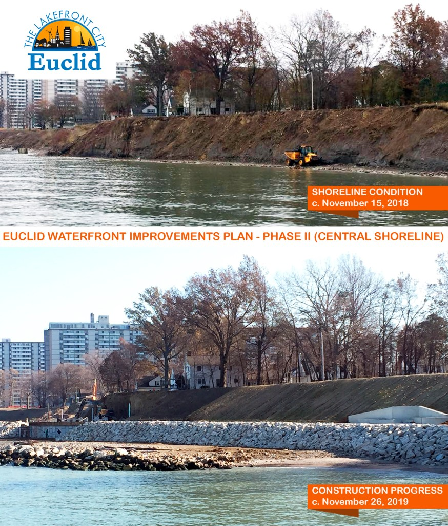 Euclid Waterfront Improvements Plan - Phase II (Central Shoreline)