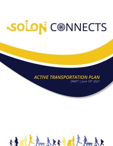 Cover of the draft final document for the Solon Connects plan