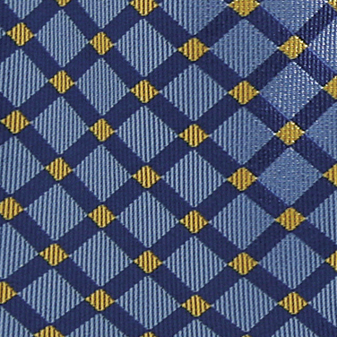 Check Woven Tie | Mens Formal Tie | Business Work Dice ...