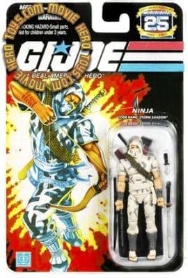 GI Joe ninja blanc