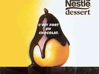 Nestle chocolat poire