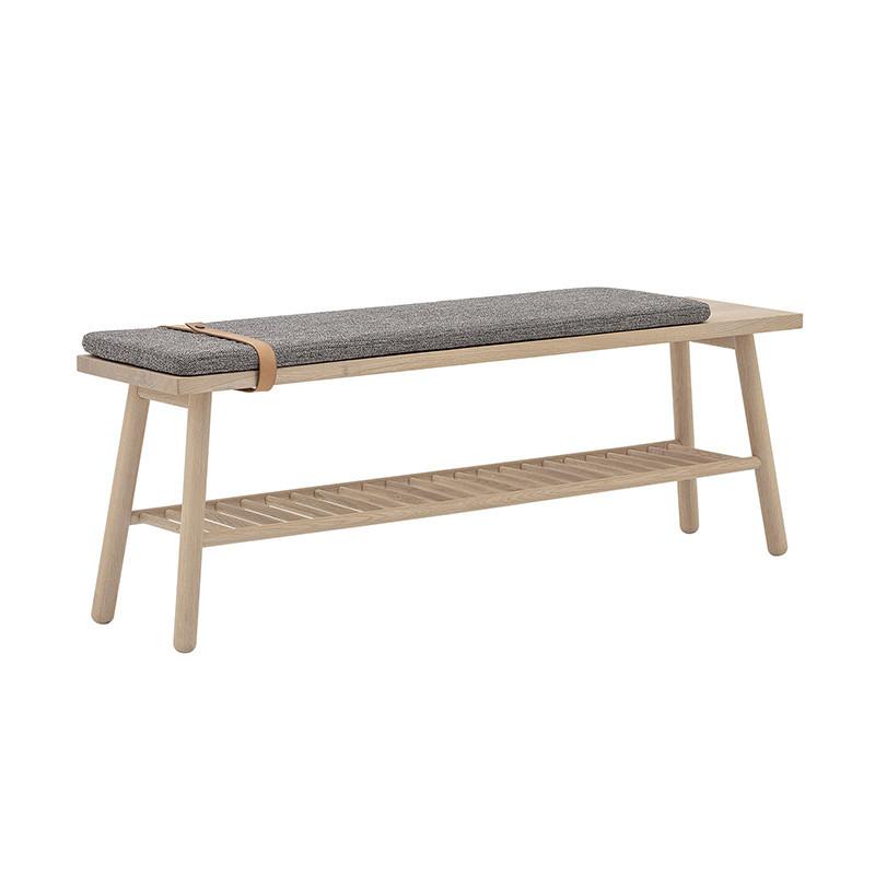 https www coupdecoeurdesign com banc 404 banc dentree en bois et coussin gris style scandinave lucie html