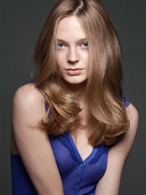Coiffure Long Glamour Femme Cheveux Longs Sur