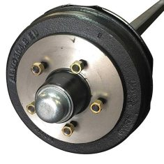 50mm Square Electric Braked Axle Kit 2t