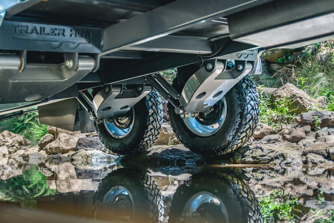 Wild Duck Suspension Dual Axle.
