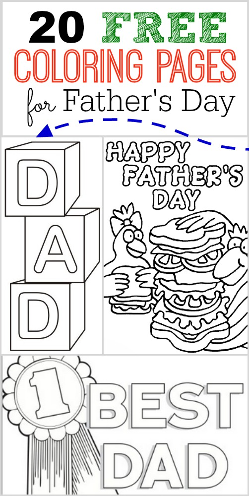 20 free fathers day coloring pages one crazy mom, i love you mom and dad coloring pages