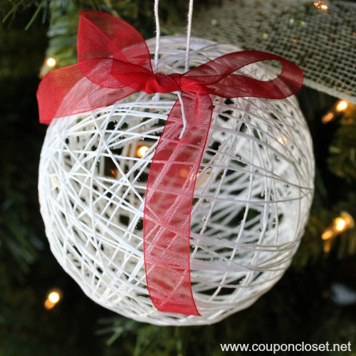 12 Days Of Homemade Christmas Ornaments Day 7 Dollar