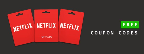 netflix free redeemable codes