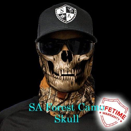 SA Forest Camo Skull