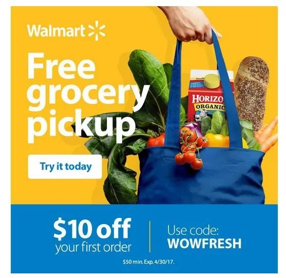 Grocery Store Order Online Pick