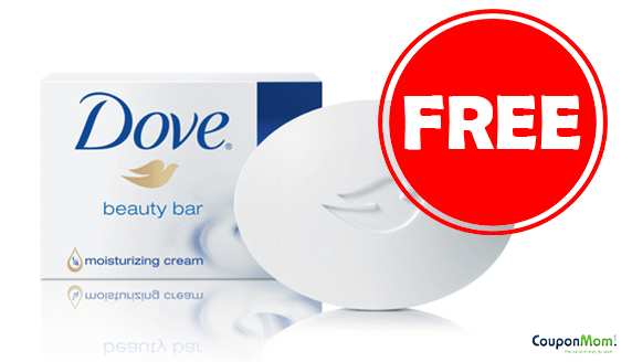 2 FREE Dove Soap – NO COUPON REQUIRED