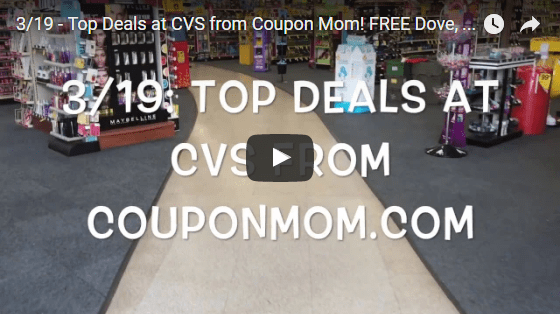 3/19 VIDEO: Top Deals from CVS! FREE Arm & Hammer, Dove, Cosmetics and More