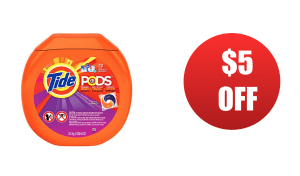 $5 Off TIDE Laundry Detergent! PRINT NOW! - CouponMom Blog