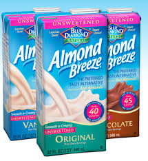blue diamond milk