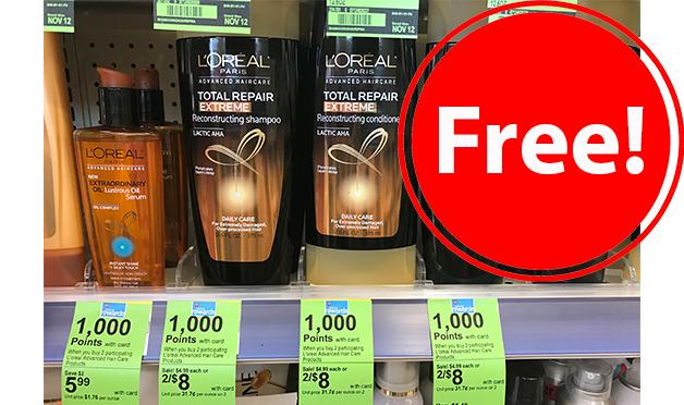 FREE L'Oreal Shampoo – Just Print Coupons!